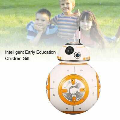 BB-8 2.4GHz RC Robot Ball Remote Control Planet Boy with Sound Star Wars Toy DR