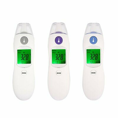 Digital IR Infrared Thermometer Non-Contact Baby Body Forehead Ear Temperature D