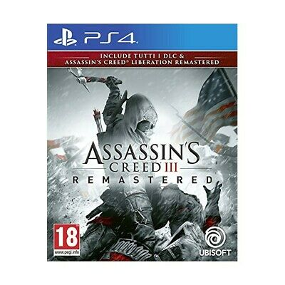 Ubisoft Ps4 Assassin's Creed 3 + Liberation Remaster