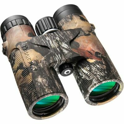 Barska 10x42 WP Blackhawk, B-4, Green Lens, Mossy O Bre-Up, Black AB11850