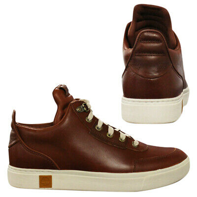 TIMBERLAND AMHERST HIGH Top Sensorflex Mens Leather Trainers