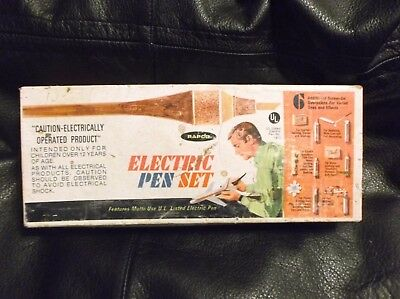 Vintage Rapco Model 6557 Electric Pen Set