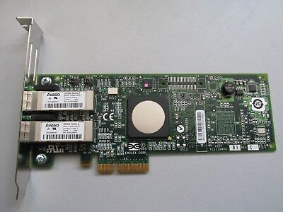 Avago SFBR-5900LZ DUAL-PORT 4Gbps FIBER CHANNEL BOARD SFP - PCIe - Full Profile