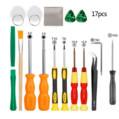 17X Screwdriver Repair Tool Kit for Nintendo Switch New 3DS and Wii/NES/SNES/D