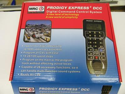 """MRC 1420 Prodigy Express /""""Squared/"""" Complete DCC System"""