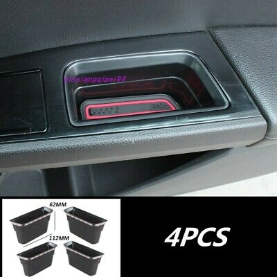 4x Chrome Inner Door storage box handle cover trim For Ford Fusion Mondeo 13-15
