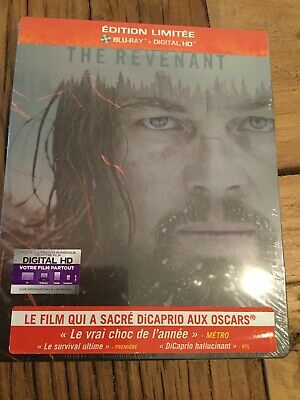 The Revenant Steelbook Blu-ray Neuf Et Emballé