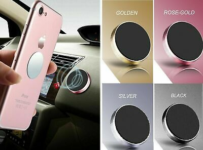 In Car Magnetic Phone Holder Fits Dashboard Universal Mount Various Colours
