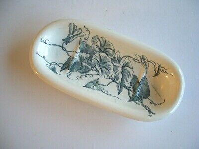 Victorian Dish - Convolvulous Pattern, Probably From A Washstand Set