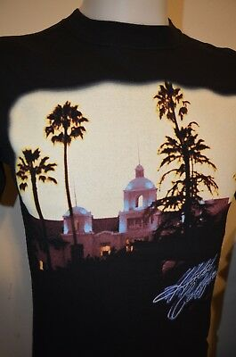 The Eagles Hotel California 2005 USA Tour Classic Folk Rock Band S T-Shirt NEW