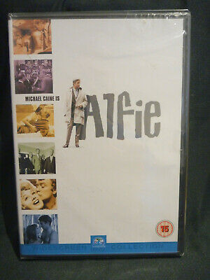 Alfie Dvd Michael Caine Brand New & Factory Sealed 1st Class Post!