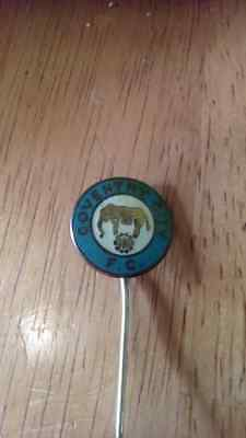 Coventry City Vintage Stick Pin Badge