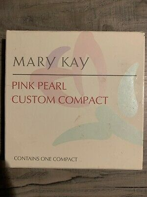 Mary Kay Pink Pearl VINTAGE Custom Compact Refillable Compact 6882 Retired