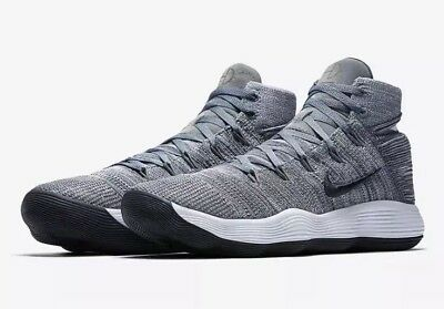 c5780cedf2019 NEW Sz 11 Nike Hyperdunk 2017 Flyknit Basketball Shoe Cool Grey 917726-007