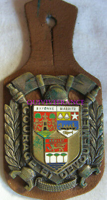 In10231 - Insigne Sapeurs Pompier Bayonne - Biarritz - Anglet, 64