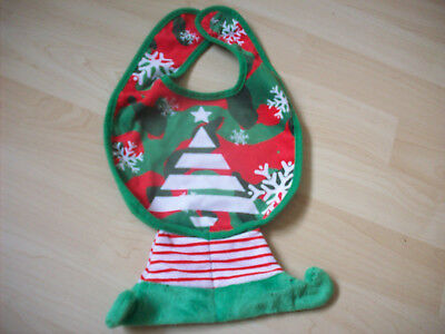 Christmas  Elf Baby Bib From The Kingdom Of The Elves. New