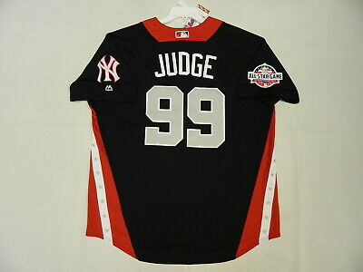 timeless design 31984 a9337 AUTHENTIC AARON JUDGE 2018 All Star HR Derby American League Jersey Yankees  48