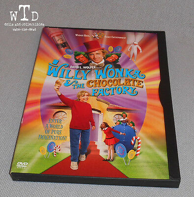 1999 DVD * WILLY WONKA AND THE CHOCOLATE FACTORY * gene wilder