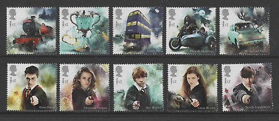 2018 Multi-Choice Single Stamps from Harry Potter Wizarding World Prestige DY27