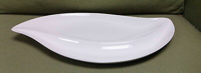 "Villeroy & Boch Germany New Cottage Gloss White 19-3/4"" Serving Platter EUC!"