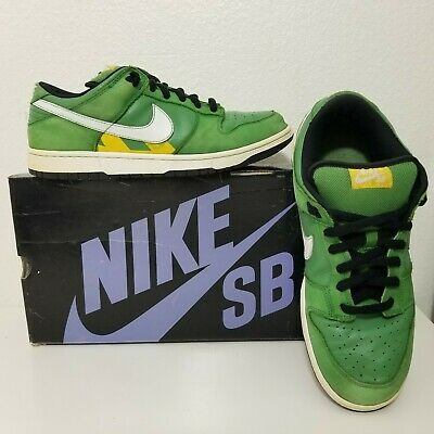 best service 7acc8 bb682 Nike Dunk Low Pro SB Taxi Series Tokyo Size 12 Green 304292 311 Japan Rare