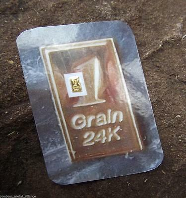 6 X GOLD BULLION 24K PURE.999 FINE GOLD BARS D24cSHIPS FREE IF YOU BUY 2 OR MORE