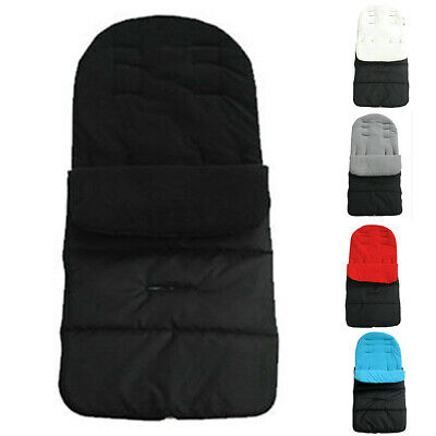 Practical 1x Baby Stroller Pushchair Footmuff Buggy Cosy Toes Foot Cover Bag