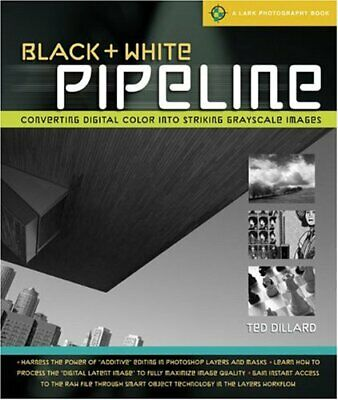 Black & White Pipeline (Lark Photography) By Ted Dillard
