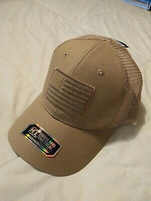 HIGHLAND TACTICAL MESH Tactical Operator Hat Hook&Loop Patch Panel
