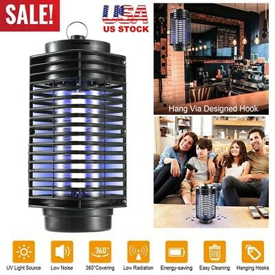 ELECTRIC FLY BUG Zapper Mosquito Insect Killer LED Light Trap Lamp