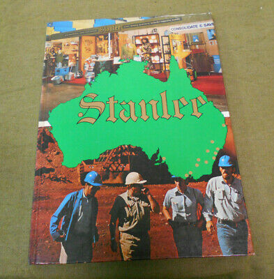 #LL.    1970s  AUSTRALIAN STANLEE  HOTEL & HOSPITALITY SUPPLIES CATALOGUE