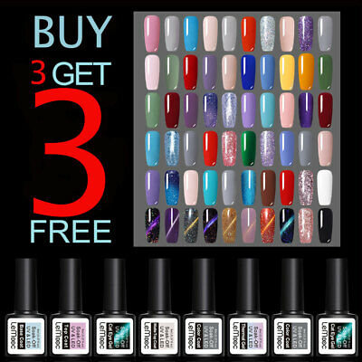220 Colors LEMOOC Multi-style Gel Polish Nail Art Soak off  UV LED Gel