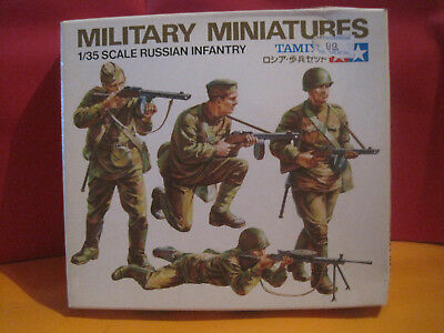 Tamiya Kit Maquette A Monter 1/35 Military Miniatures Russian Infantry Neuf