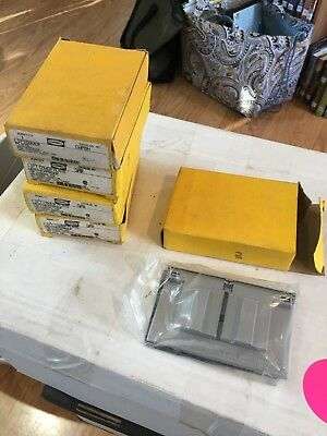 (5) NIB Hubbell CWP8H liftcover plates