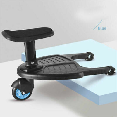 Portable Comfort Wheeled Safety Pushchair For Kid Stroller Step Board Up To 25Kg