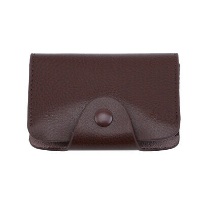 Business Card Bag Luxury Soft Leather Business Card Holders for Women Men CB