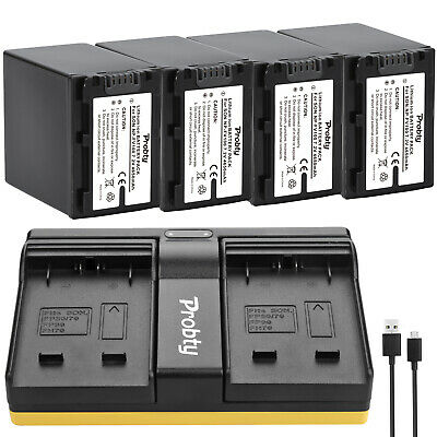 NP-FV100 Battery + Charger for Sony HDR-CX330 HDR-CX900 HDR-PJ810 FDR-AX100