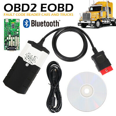 2015R3 Diagnostic Tool TCS CDP+ Auto Bluetooth EOBD/OBDII Scanner SRS Reset Code