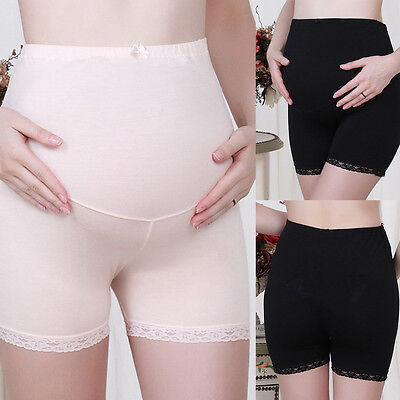 Pregnant Women Panties Belly Support Shorts Soft Maternity Underwear Underpants