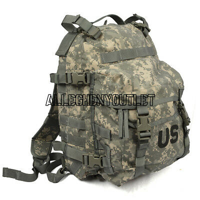US ARMY ACU ASSAULT PACK 3 DAY MOLLE BACKPACK w/ Stiffener VGC