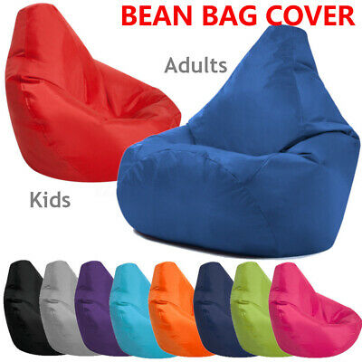 Bean Bag Chair Indoor/Outdoor Gamer Beanbag Seat, Adult and Kids Sizes
