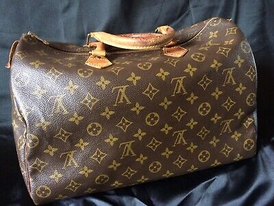 c81300b993 Louis Vuitton Borsa Donna Sp1924 Speedy 35 Originale Accessori Di Lusso
