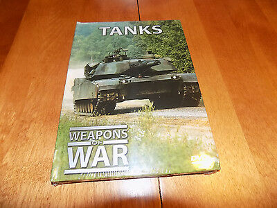 WEAPONS OF WAR TANKS WWII History Panzers Tanks Armor Panzer Guns DVD NEW