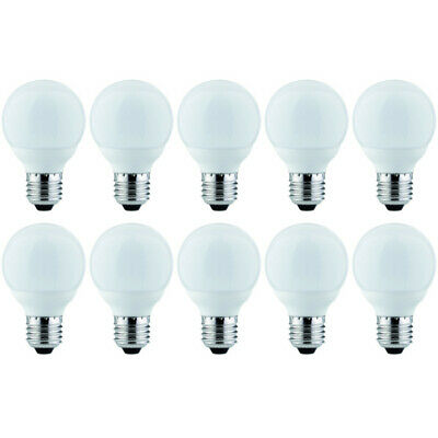 10 x Nice Price 3391 LED Globe 3W E27 warmweiß 60mm Leuchtmittel