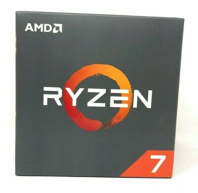 AMD RYZEN 7 2700X 3.7GHz 8-Core Socket AM4 Unlocked CPU Desktop Processor