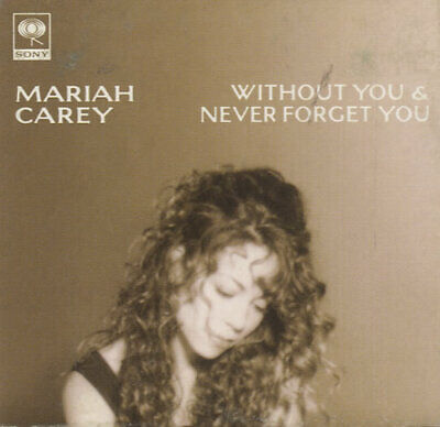"Mariah Carey Without You - Snapped Pack 3"" CD single (CD3) Japanese promo"