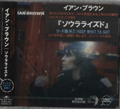 Ian Brown Solarized Japanese CD album (CDLP) promo UICP1057 POLYDOR 2004