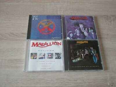 MARILLION 4 CD Musik Sammlung Clutching At Straws + Singles Collection +