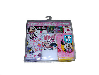 Minnie Mouse Toddler Girls/' 3pk Training Pants and 4pk Panties COMBO PACK