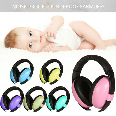 Kids Child Baby Ear Muff Defenders Noise Resistance Earmuff Protection Sleep Aid